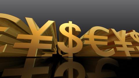 Money Symbol Db Stock Video Footage