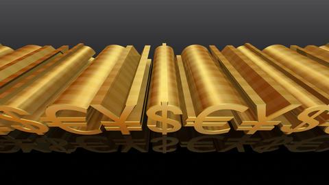 Money Symbol Eb Stock Video Footage