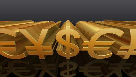 Money Symbol Eb Stock Video Footage