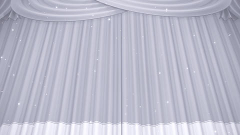 Stage Curtain B CU HD Animation