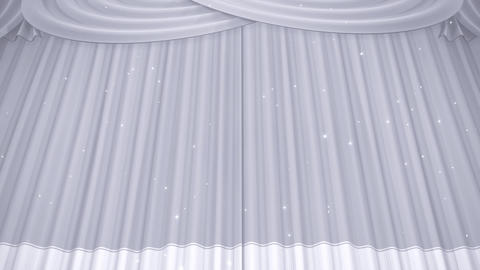 Stage Curtain B CU HD Stock Video Footage