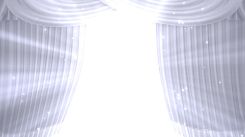 Stage Curtain B OM HD CG動画
