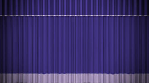 Stage Curtain C CF HD Animation