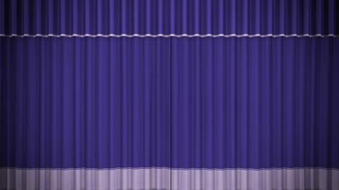 Stage Curtain C CF HD Stock Video Footage