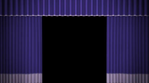 Stage Curtain C OF HD Stock Video Footage