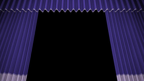 Stage Curtain C OU HD Animation