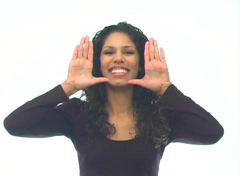 Beautiful Latina-1b Stock Video Footage