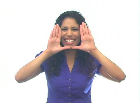 Beautiful Latina-3b Stock Video Footage