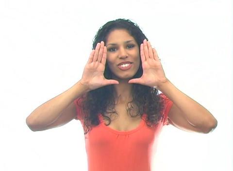 Beautiful Latina-4c Stock Video Footage
