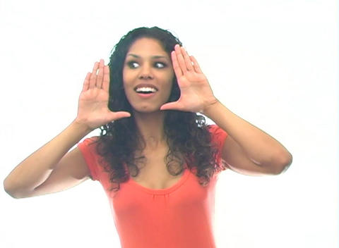 Beautiful Latina-4e Stock Video Footage
