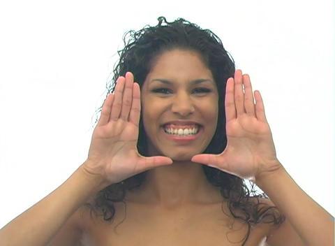 Beautiful Latina-5a Stock Video Footage