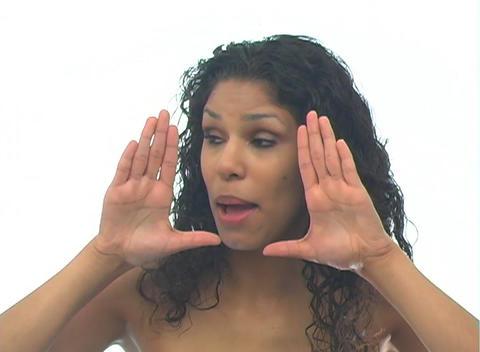 Beautiful Latina-5c Stock Video Footage