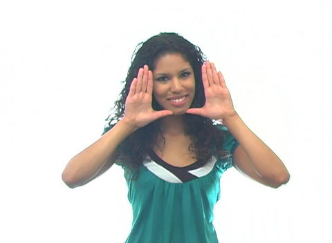 Beautiful Latina-6b Stock Video Footage