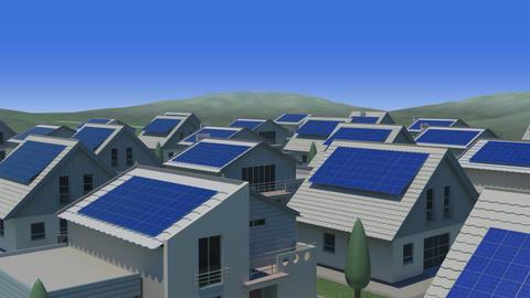 Solar panel Jb HD Stock Video Footage