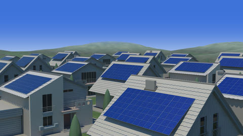 Solar panel Jb HD Animation