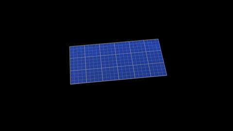 Solar panel Rb HD Stock Video Footage