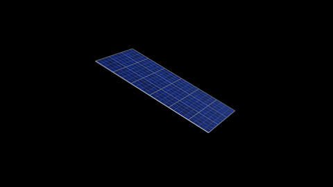 Solar panel Rb HD Stock Video Footage