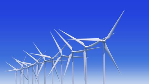 Wind Turbine Ha HD Stock Video Footage