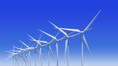 Wind Turbine Ha HD Animation