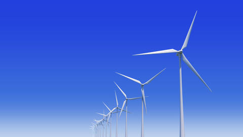 Wind Turbine Hb HD Stock Video Footage