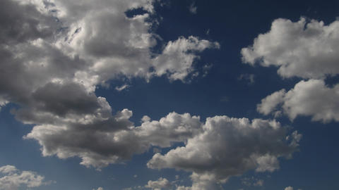 Timelapse clouds 02 Stock Video Footage