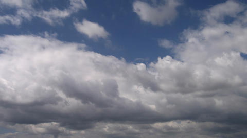 Timelapse clouds 07 Stock Video Footage