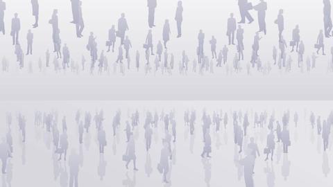 Silhouette People S B2 Ba Stock Video Footage