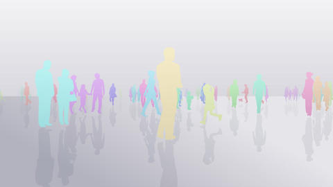 Silhouette People S C1 Fa Animation