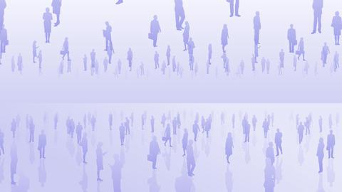 Silhouette People S C2 Ba Stock Video Footage