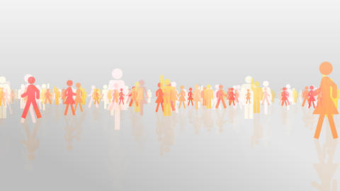 Silhouette People S C3 Ma HD Animation