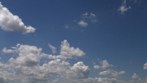 Timelapse clouds 06 Stock Video Footage