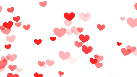 Heart Pattern HF2D hrt1 L HD Animation