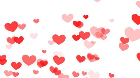 Heart Pattern HF2D hrt1 L HD Stock Video Footage