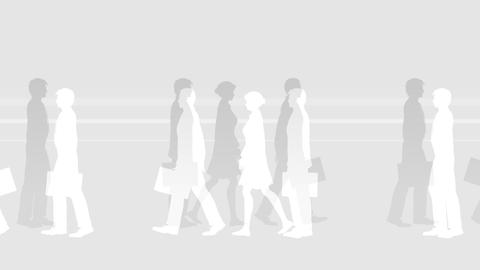 Walking People 3 ABc Animation