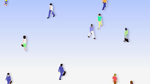 Walking People 3 CMc Animation