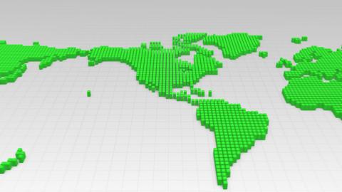 Map BlockGI W5S1 F HD Stock Video Footage