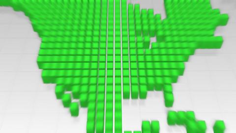 Map BlockGI W5S2 F HD Stock Video Footage