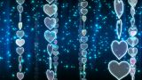 Chain Heart A stock footage