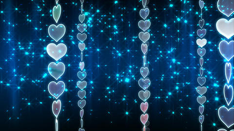 Chain Heart A Stock Video Footage