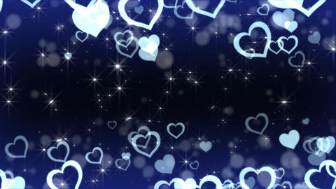 Floating Heart A Stock Video Footage