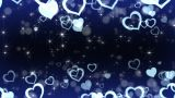 Floating Heart A stock footage