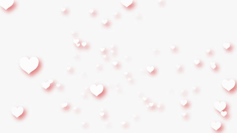Flying Heart B Stock Video Footage