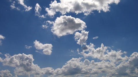 Timelapse clouds 17 Stock Video Footage