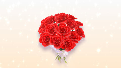 Rose Bouquet A1 Animation