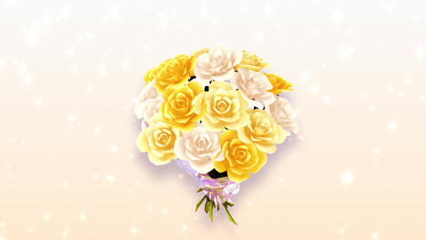 Rose Bouquet A3 CG動画