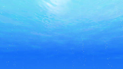 Under Water a Stock Video Footage
