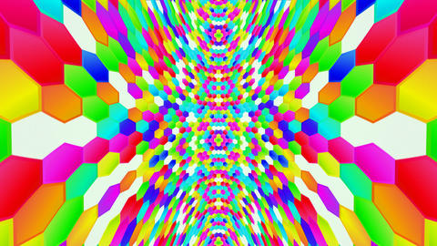 Hexagon HD 01 It moves to length Animación