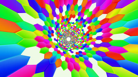 Hexagon HD 04 advances Animación
