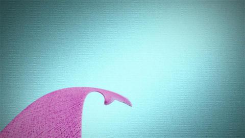 cherry ribbon HD Stock Video Footage