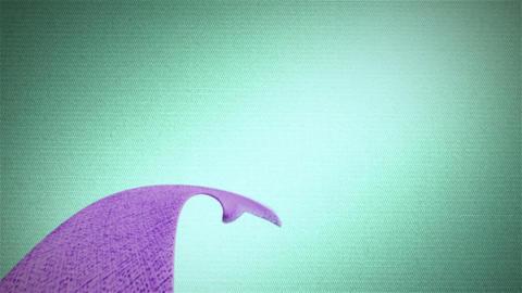 purple ribbon HD Stock Video Footage